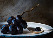 Blue Grapes Photo Posters - The blackberry Poster by Constance Fein Harding