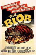 Movie Theater Framed Prints - The Blob  Framed Print by Movie Poster Prints