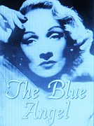 Movie Mixed Media - The Blue Angel  # 2 by Gunter  Hortz