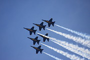 Sheellah Kennedy Art - The Blue Angels by Sheellah Kennedy