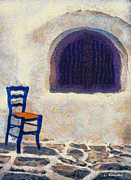 George Rossidis - The blue chair B