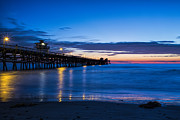 San Clemente Framed Prints - The Blue Hour Framed Print by Barbara Eads