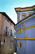 Picturesque Town Posters - The blue house Poster by RicardMN Photography