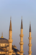 Moslem Posters - The Blue Mosque Istanbul Poster by Robert Preston