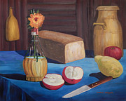 Carol L Miller - The Blue Tablecloth