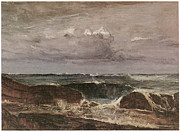 The Blue Wave Biarritz Print by James Abbott McNeill Whistler