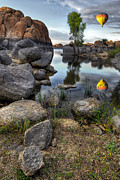 Watson Lake Photo Metal Prints - The Bobber Metal Print by Sean Foster