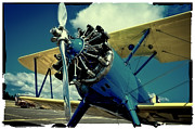 Stearman Photo Prints - The Boeing Stearman Biplane Print by David Patterson