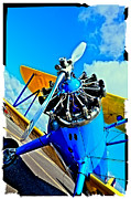 Stearman Photo Prints - The Boeing Stearman Biplane II Print by David Patterson