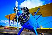 Stearman Photo Prints - The Boeing Stearman Print by David Patterson