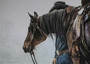 Rodeo Pastels Posters - The Bond Poster by Joni Beinborn