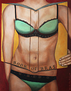 Leah Saulnier The Painting Maniac - The Book Of Bras