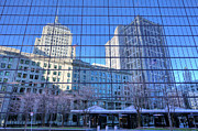 Boston Ma Photo Framed Prints - The Boston Skyline Framed Print by JC Findley