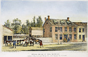 Bowery Framed Prints - The Bowery, New York, 1783 Framed Print by Granger