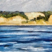 Sand Dunes Art - The Bowl - Dunes Study 2 by Michelle Calkins