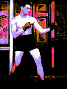 Boxer Digital Art Metal Prints - The Boxer - 20130207 Metal Print by Wingsdomain Art and Photography