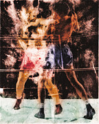 Rocky Marciano Prints - The Boxer Print by Angus Carter