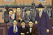 1907 Digital Art Prints - The Boys At Blackpool Print by Megan Dirsa-DuBois