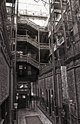 The Bradbury Building Print by Gregory Dyer