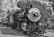 Boiler Photo Prints - The Brakeman BWHDR Print by Robert Frederick