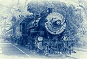 Oil Burner Prints - The Brakeman - Vintage Print by Robert Frederick
