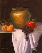 Jeanene Stein - The Brass Pot and Fruit...