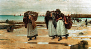 Baskets Posters - The Breadwinners  Poster by Walter Langley