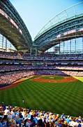 Carol Toepke Prints - The Brewers Game Print by Carol Toepke