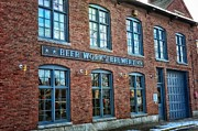 Natural Light Beer Prints - The Brewery Print by Tricia Marchlik