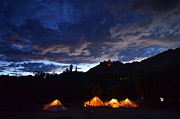India Metal Prints - The Brickmakers Tents Metal Print by Aaron S Bedell