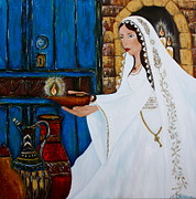 Bride Of Christ Prints - The Bride Print by Angela Mae Cheetham