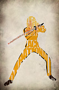 Kill Bill Prints - The Bride Print by Ayse T Werner