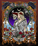 Grateful Dead Prints - The Bride Print by Gary Kroman