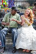 Kathleen K Parker - The Bride Plays the Trumpet- Destination Wedding New Orleans