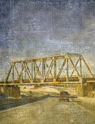 Business-travel Mixed Media Framed Prints - The Bridge Framed Print by Bob RL Evans