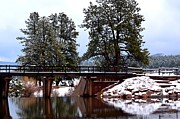 Colorado Greeting Cards Prints - The Bridge Print by Danny Key