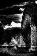 Iron Rail Posters - The Bridge Poster by Erik Brede