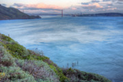 Sausalito Framed Prints - The Bridge Framed Print by JC Findley