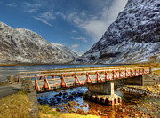 S1 Photos - The Bridge over the River Coe by Davy Nelson