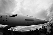 Manhatan Prints - the British Airways Concorde nose Print by Joe Fox
