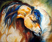 Marcia Prints - The Buckskin Print by Marcia Baldwin