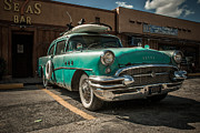 Hannes Cmarits Metal Prints - The Buick II - ready to surf Metal Print by Hannes Cmarits