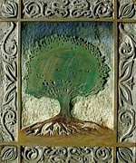 Featured Reliefs Originals - The burning bush - LVX by David W