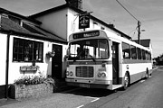 Public House Prints - The Bus to Ballyduff  Print by Rob Hawkins