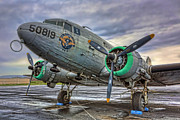 Douglas Dc-3 Framed Prints - The C-47 Skytrain Framed Print by Lee Dos Santos