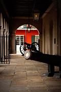Gas Lamps Prints - The Cabildo Print by Beth Vincent