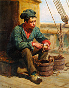 Ralph Posters - The Cabin Boy Poster by Ralph Hedley