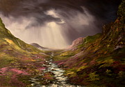 Jean Walker Paintings - The Cairngorms in Scotland by Jean Walker