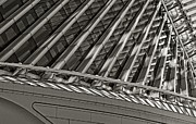 Art Museum Digital Art - The Calatrava in Black and White by Mary Machare