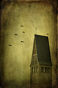 Spooky Photo Posters - The Calling Poster by Evelina Kremsdorf